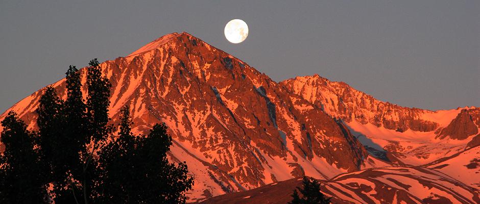Full Moon Sierra Nevada