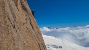 alps climbing slide
