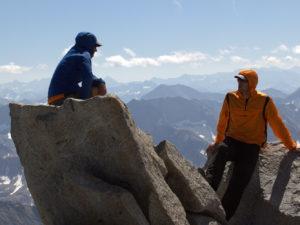 Summit of Mt. Agassiz