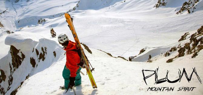 plum chamonix mountain ski